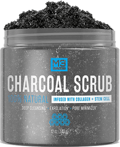 5 Steps To Clear Skin For Guys Skin Care Routine For Men Charcoal Scrub Activated Charcoal Scrub Stem Cells