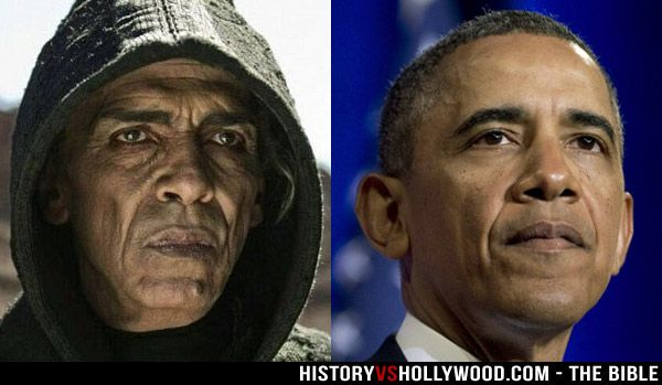 Barack Obama The Bible miniseries controversy. Do you think he ...