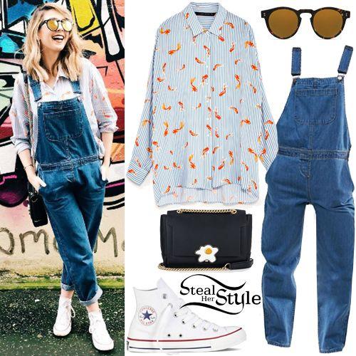 Steal Her Style Celebrity Fashion Identified Closet Pinterest Jardineras Moda Para