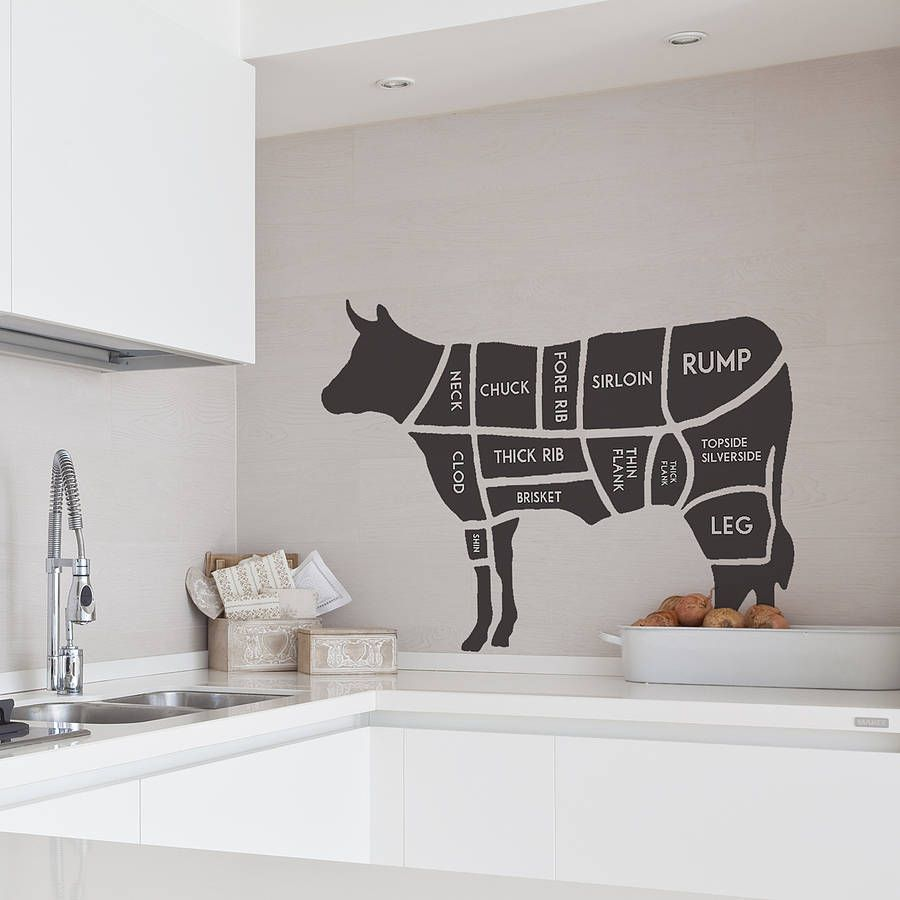 Accessories For Kitchen Walls: Vinyls, Stick It And Smooth