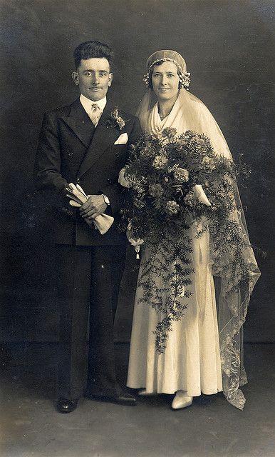 1920s Wedding Wedding Gowns Vintage Old Wedding Photos Vintage Wedding