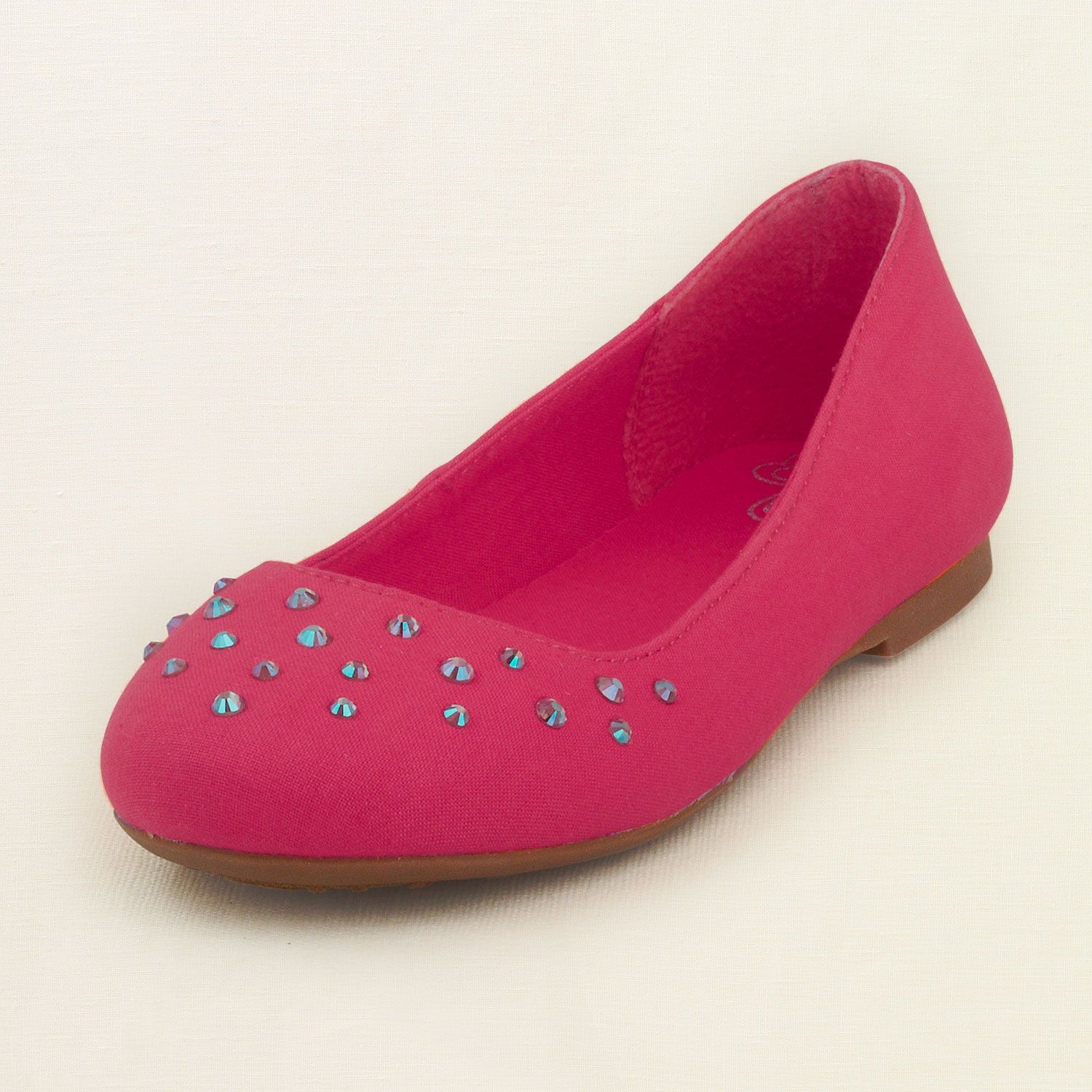 girl - shoes - ballet flats - rhinestone ballet flat | Children's Clothing | Kids Clothes | The Children's Place