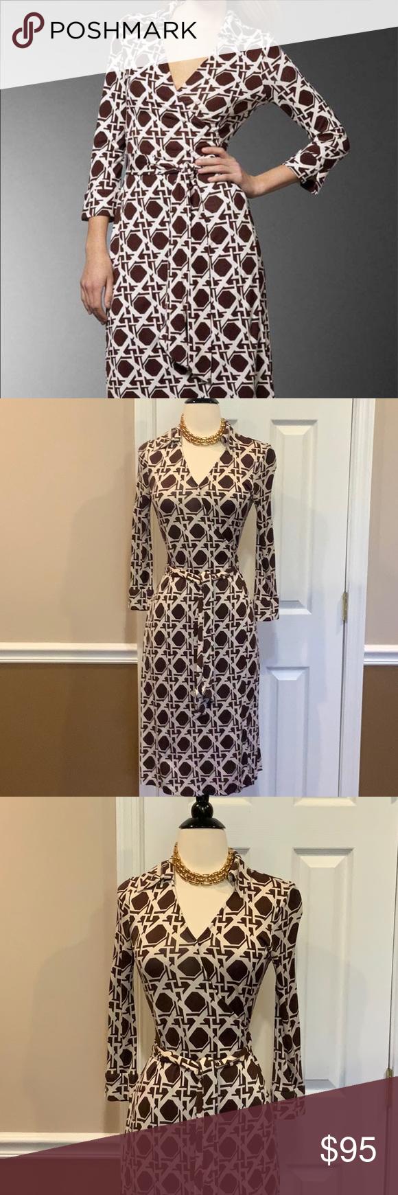 Dvf Vintage Justin Silk Wrap Dress 6 Diane Von Furstenberg Vintage Line Sz 6 100 Silk Classic Wrap Dress Bro Silk Wrap Dresses Clothes Design Colorful Dresses [ 1740 x 580 Pixel ]