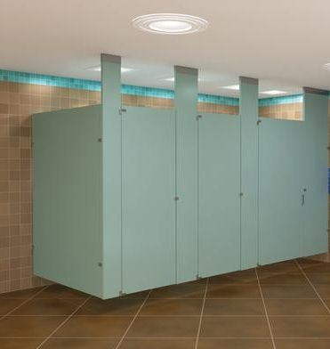 Baked Enamel Bathroom Dividers For Public Restrooms Provide The Most  Economical And Durable Designs For Bathroom Nice Look