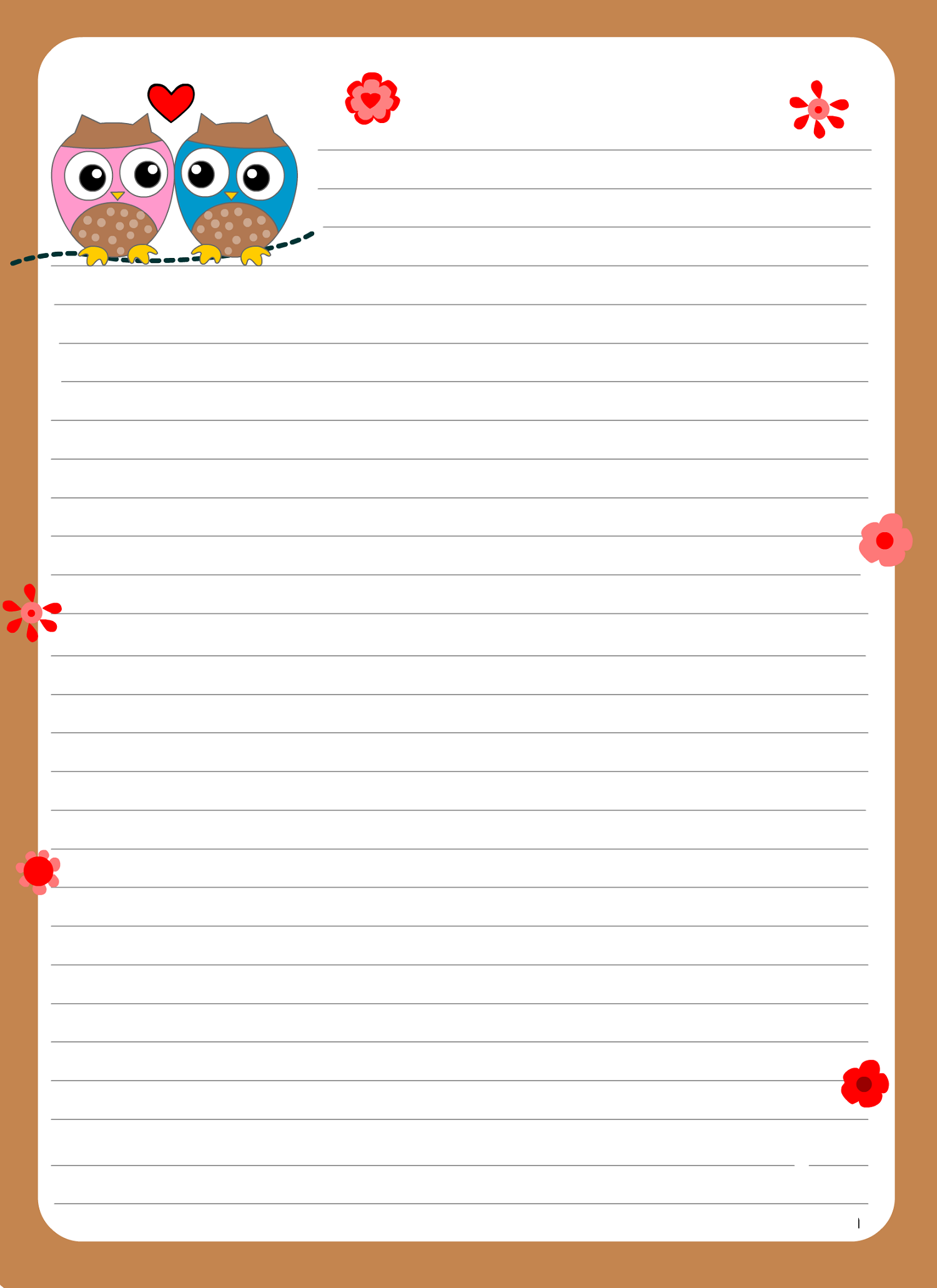 lined paper for writing for cute writing paper | dear joya | fancy