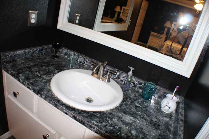 the easiest way to update your bathroom vanity without on replacement countertops for bathroom vanity id=66469