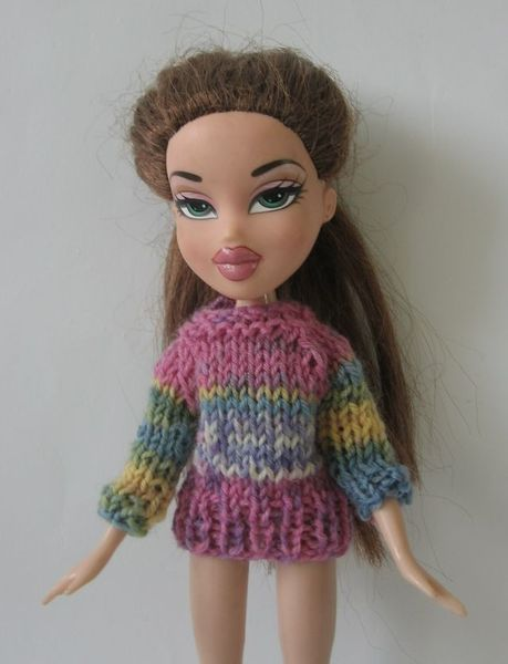 Ubranko Dla Lalki Sweter Blythe Bratz Doll Clothes Crochet Hats Crochet