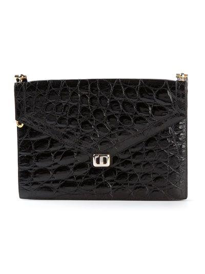 7c6bf1e727f Christian Dior Vintage Crocodile Leather Shoulder Bag