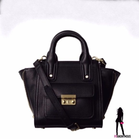 3.1 Philip Lim for Target Small Cross Body Satchel From the sold out handbag collection. Brand new with tags. One of the most popular pieces. Black vegan leather. Detachable strap. 3.1 Phillip Lim for Target Bags Satchels