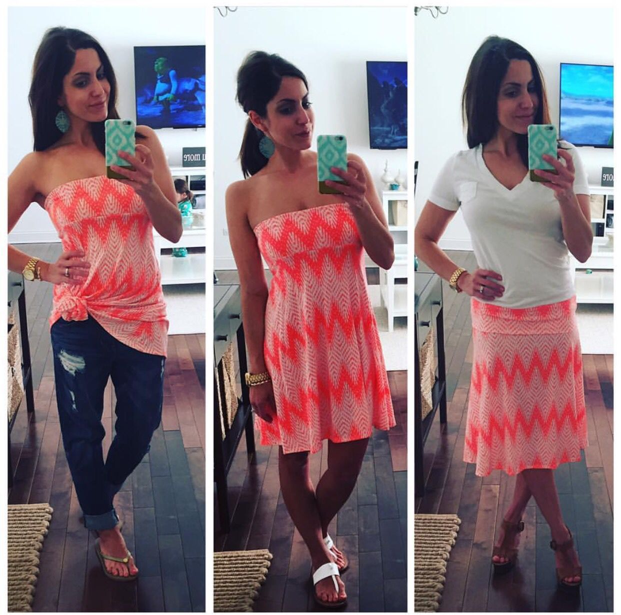 Image result for wearing top as a dress