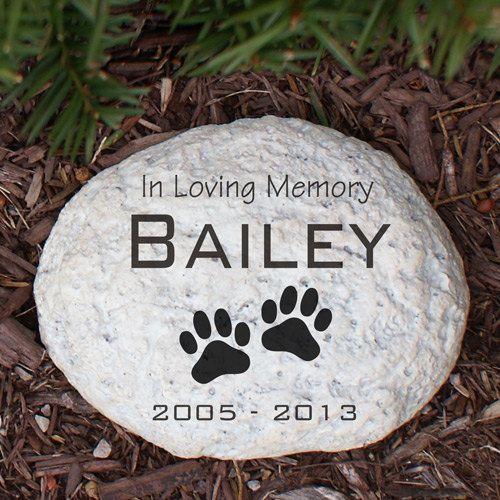 Engraved Pet Memorial Garden Stone, pet, memorial, garden stone, memorial garden stone, cremated, keepsake, memorial, engraved -gfyL553714N