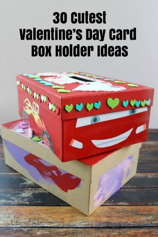 The 30 Cutest Valentine S Day Card Box Holder Ideas Check Out This