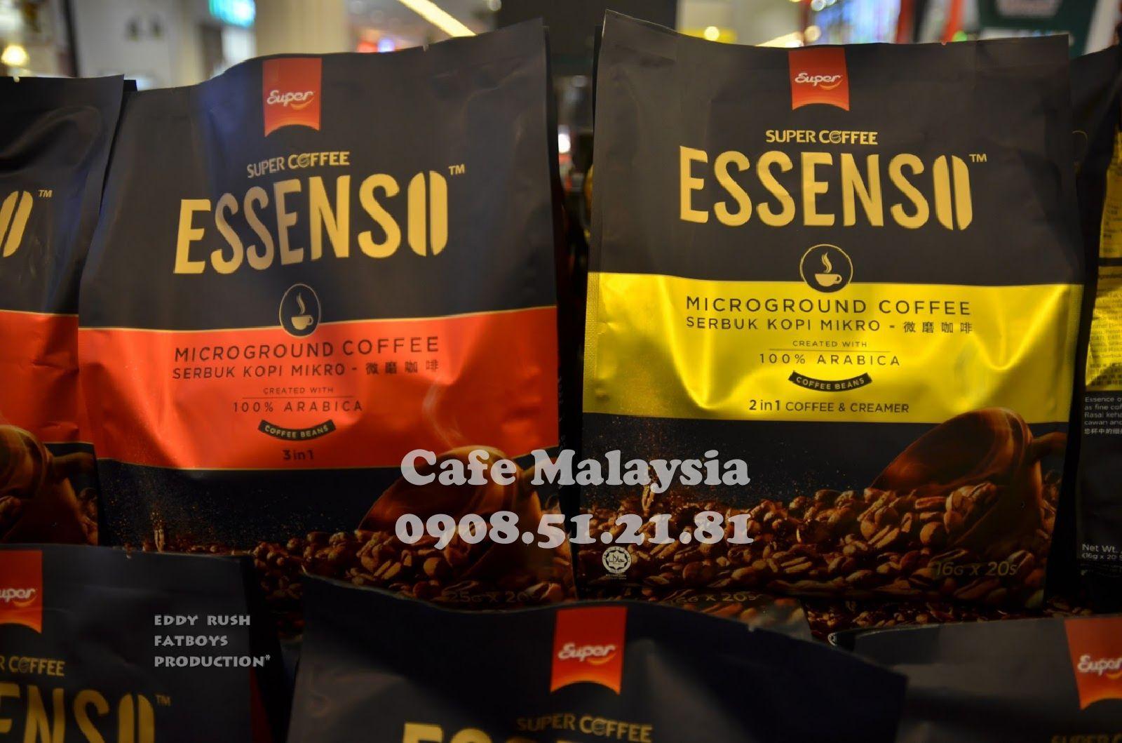 Cà Phê ESSENSO Cafe hòa tan hảo hạng Cà phê, Cà phê