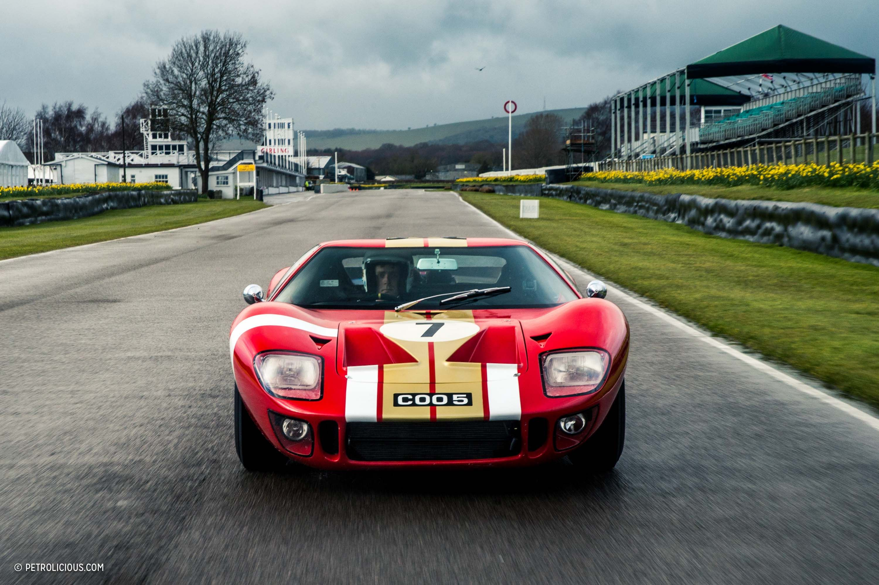 here s how you test a monstrous ford gt40 before it races at rh pinterest com
