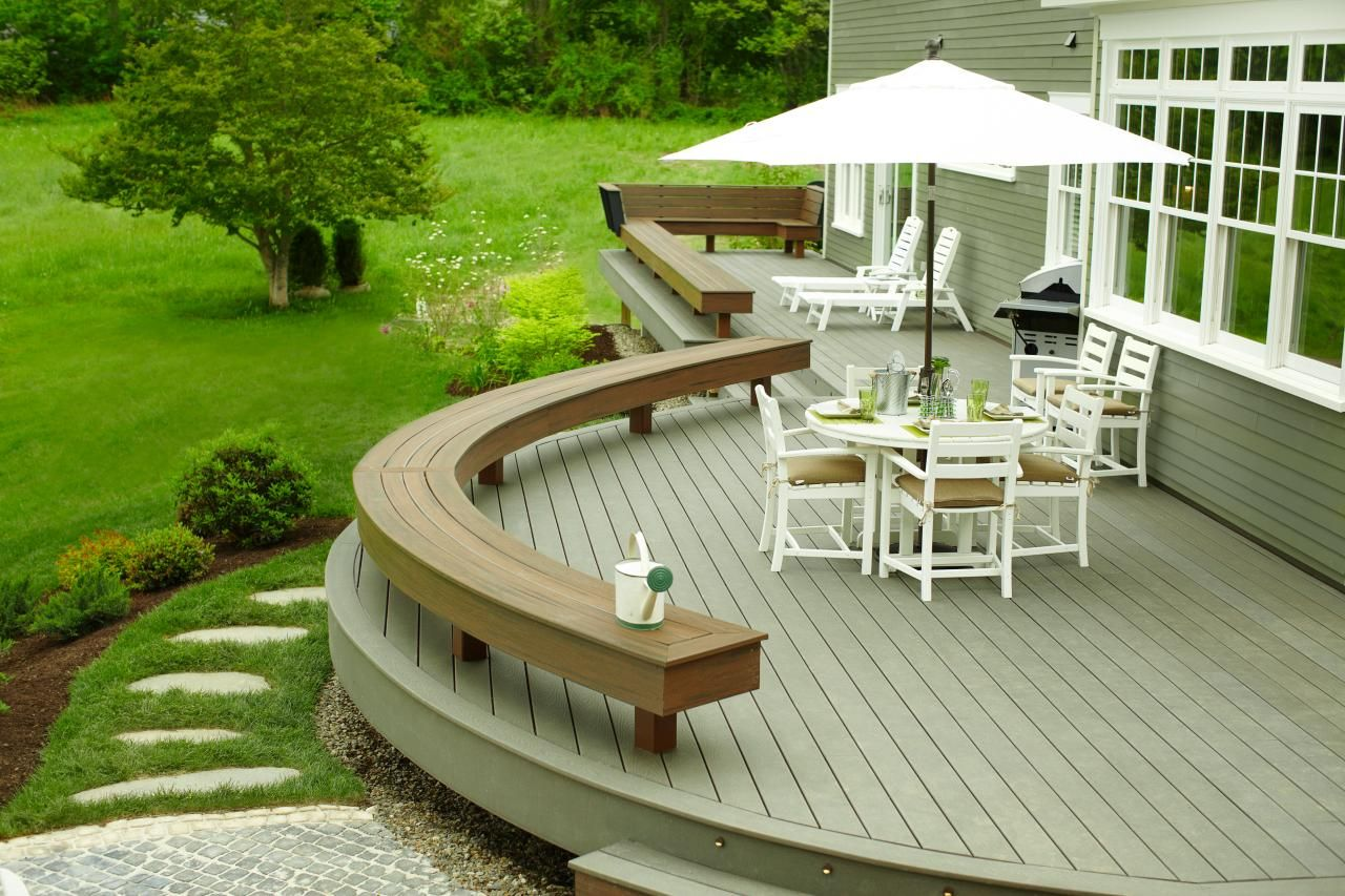 Diy Deck Ideas Great Projects And Tutorials For You Deck Small Backyard Landscaping Patio Design Budget Decks
