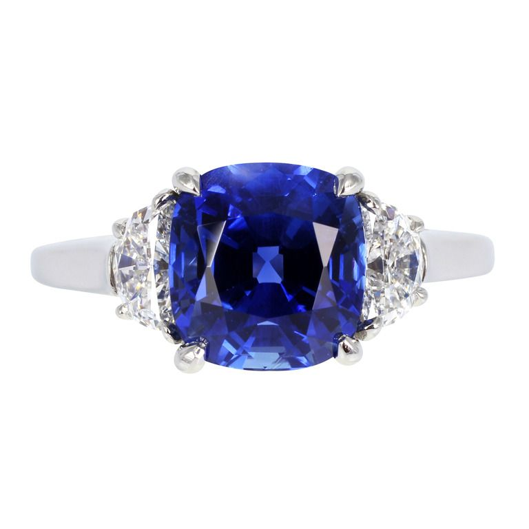 Tiffany Amp Co No Heat Sapphire Ring The Facts Blue