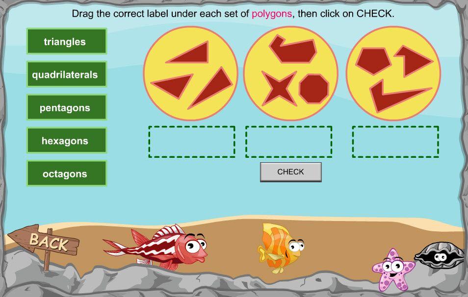 Fun interactive shape game for children in Year 2 | Maths - Shape ...