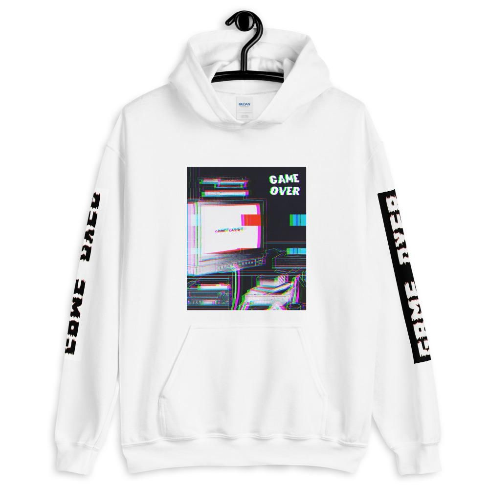 Game over hoodie vaporwave anime hoodie aesthetic