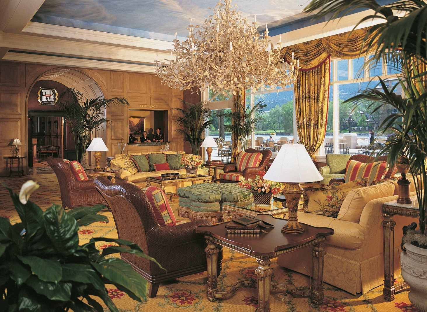 Mezzanine Lobby Broadmoor Hotel Colorado Springs Co My