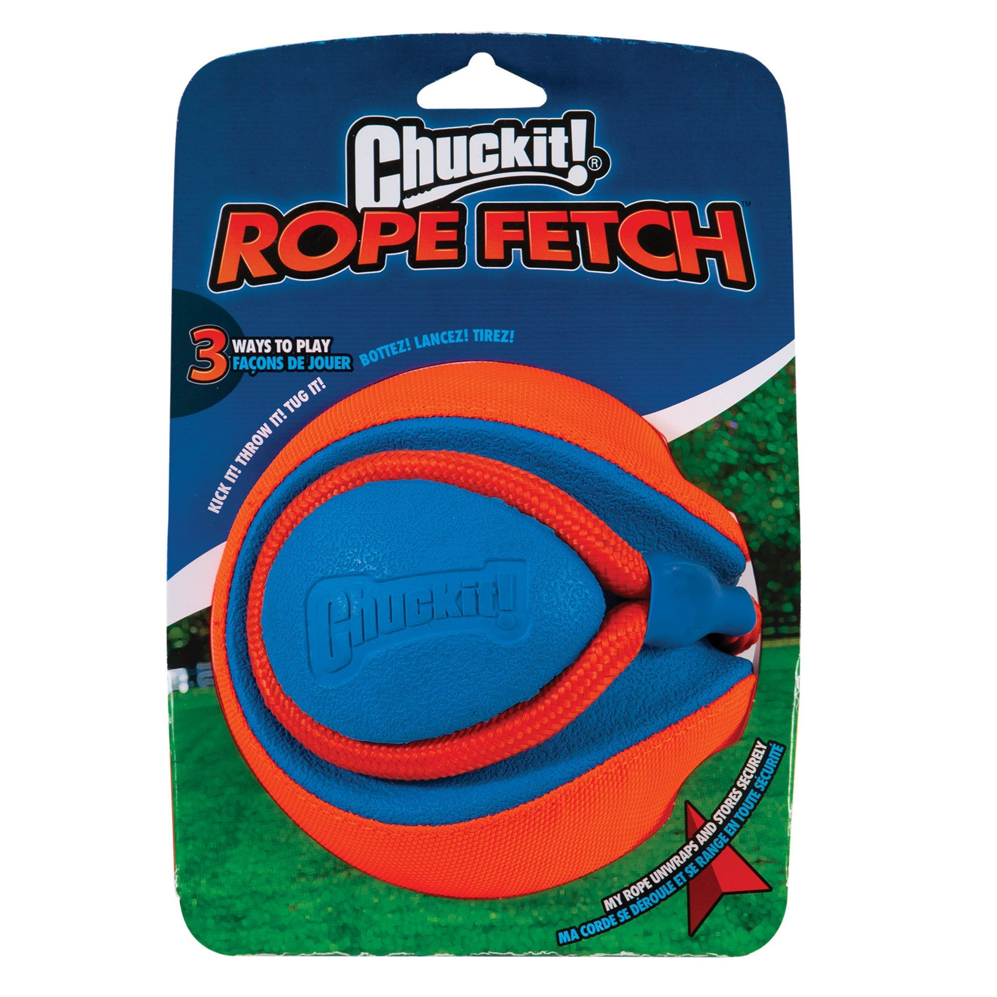 Chuckit Rope Fetch Dog Toy In 2019 Products Dog Toys Toys Dogs