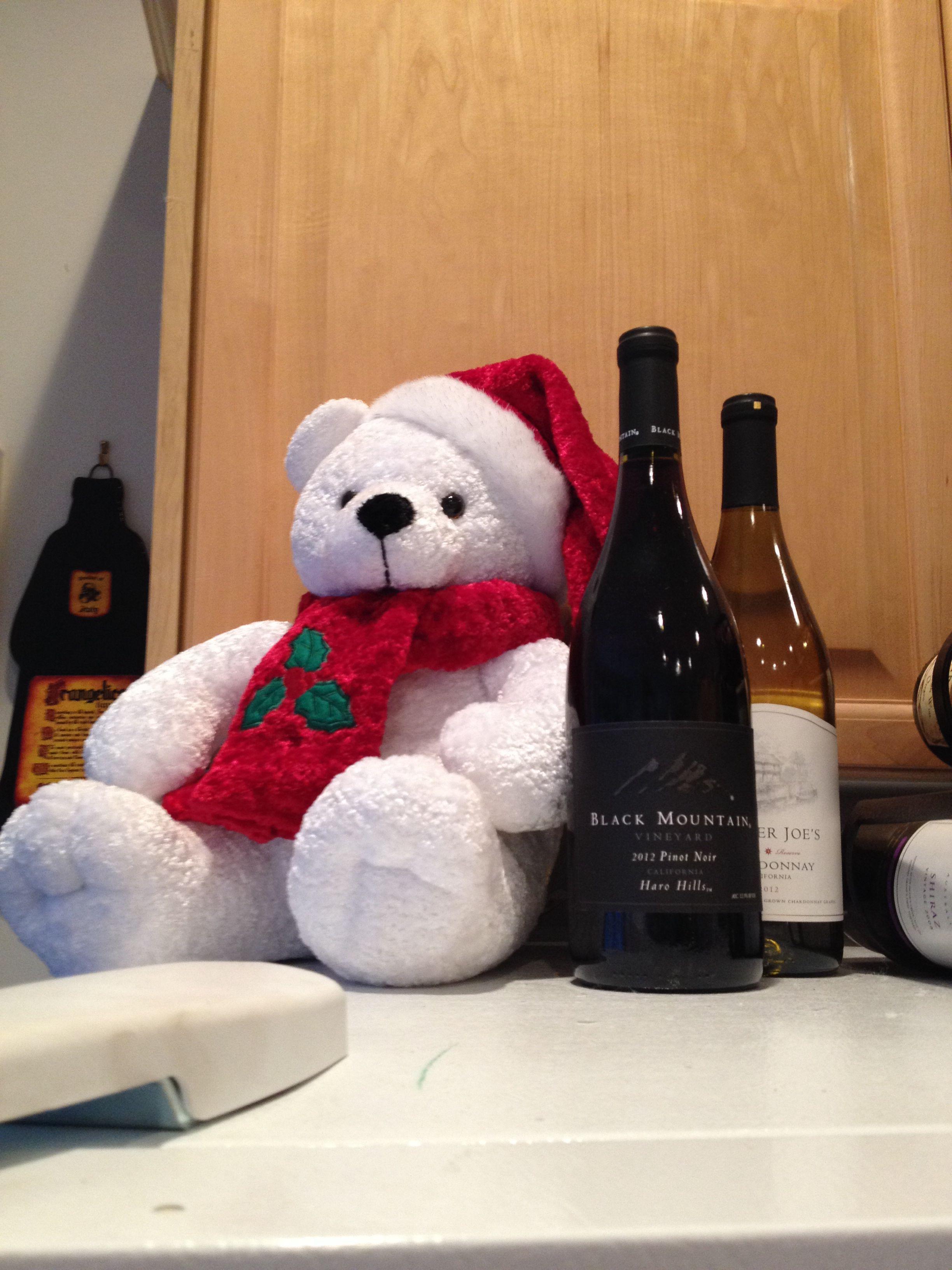 Bear And Wine Wine Wine Rack Decor