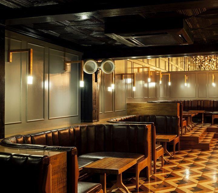 Bar And Lounge Interior Design: Retro Industrial Bar Interiors