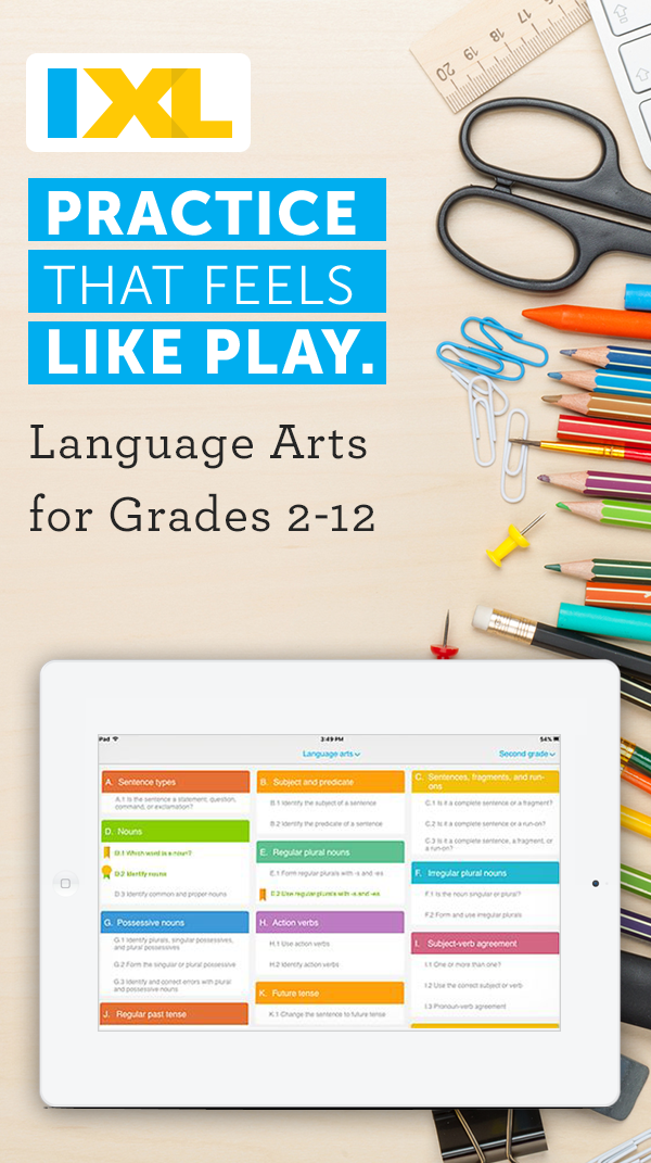 Practice that feels like play. Get the K12 app that teachers use ...