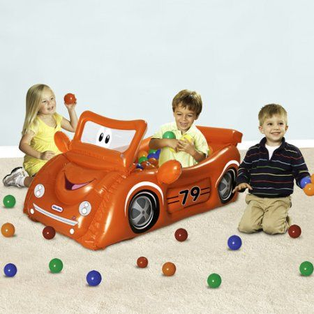 Little Tikes Red Sports Car Play Center Ball Pit with 25 Balls