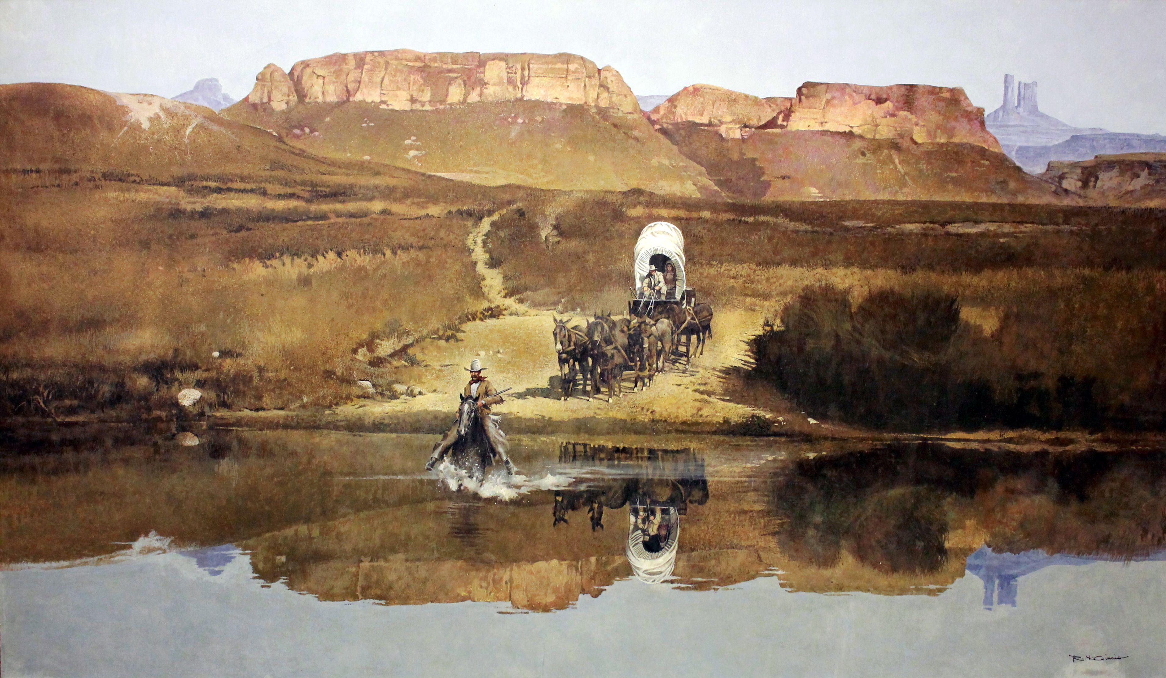 deadcades — Robert McGinnis - Western Art Prints