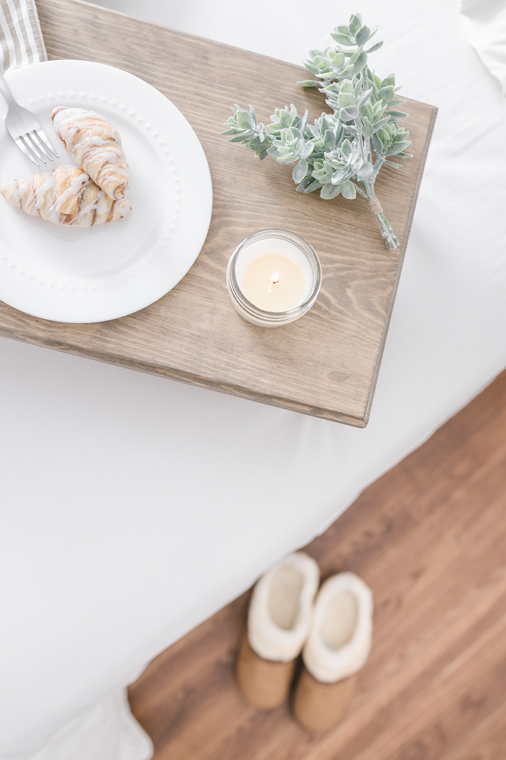 a1494040fb9b Stay in bed and enjoy breakfast with Antique Candle Works  handmade soy  candles~ The best  vintage inspired farmhouse  decor always includes a  yummy soy ...