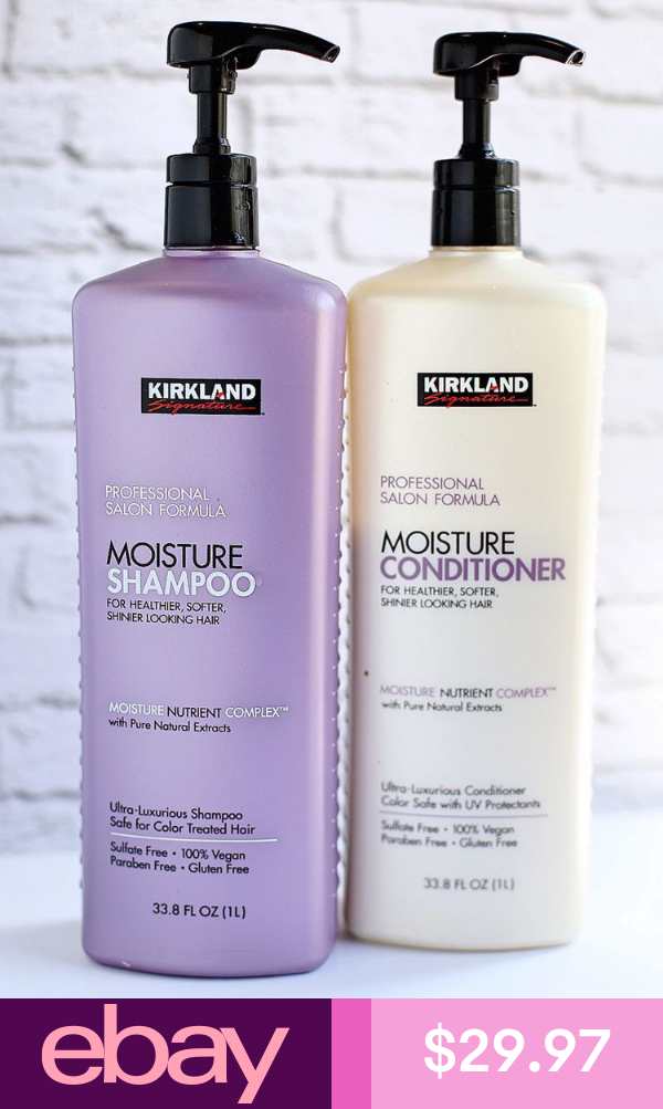 Kirkland Shampoo & Conditioner Health & Beauty Kirkland