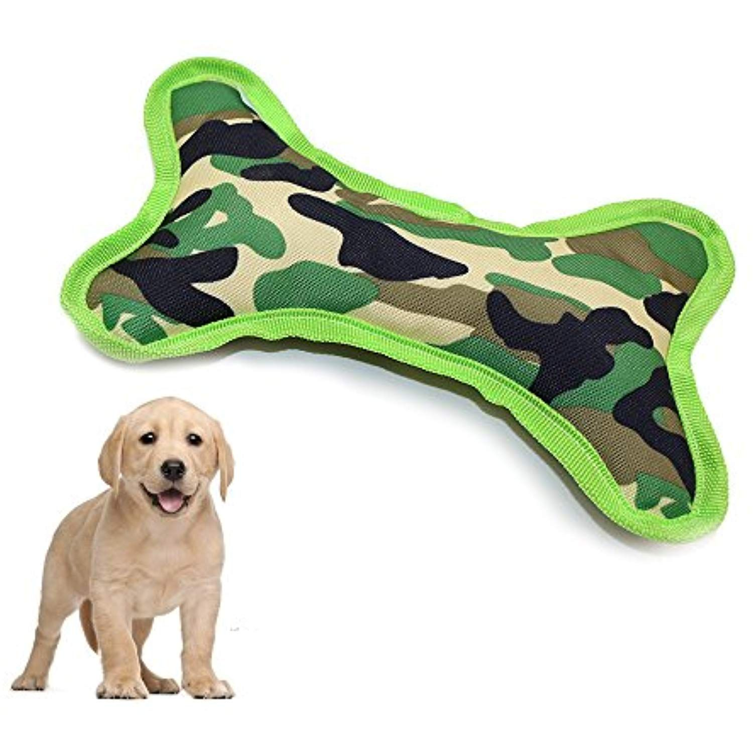 Langxian Squeaky Dog Flying Disc Toys Tough Interactive Squeak