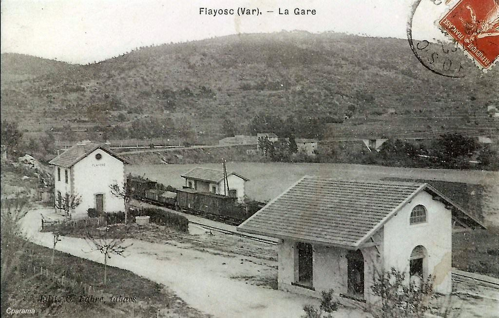 Flayosc Var Carte Postale Postale Train Electrique