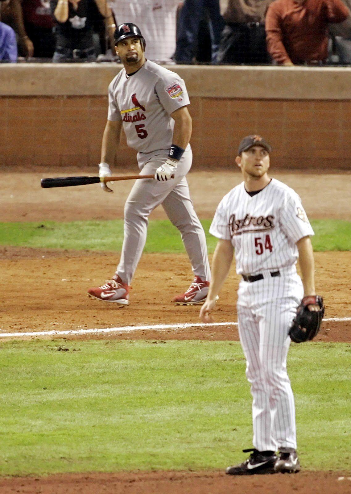 Albert Pujols & Brad Lidge Albert pujols, Cardinals