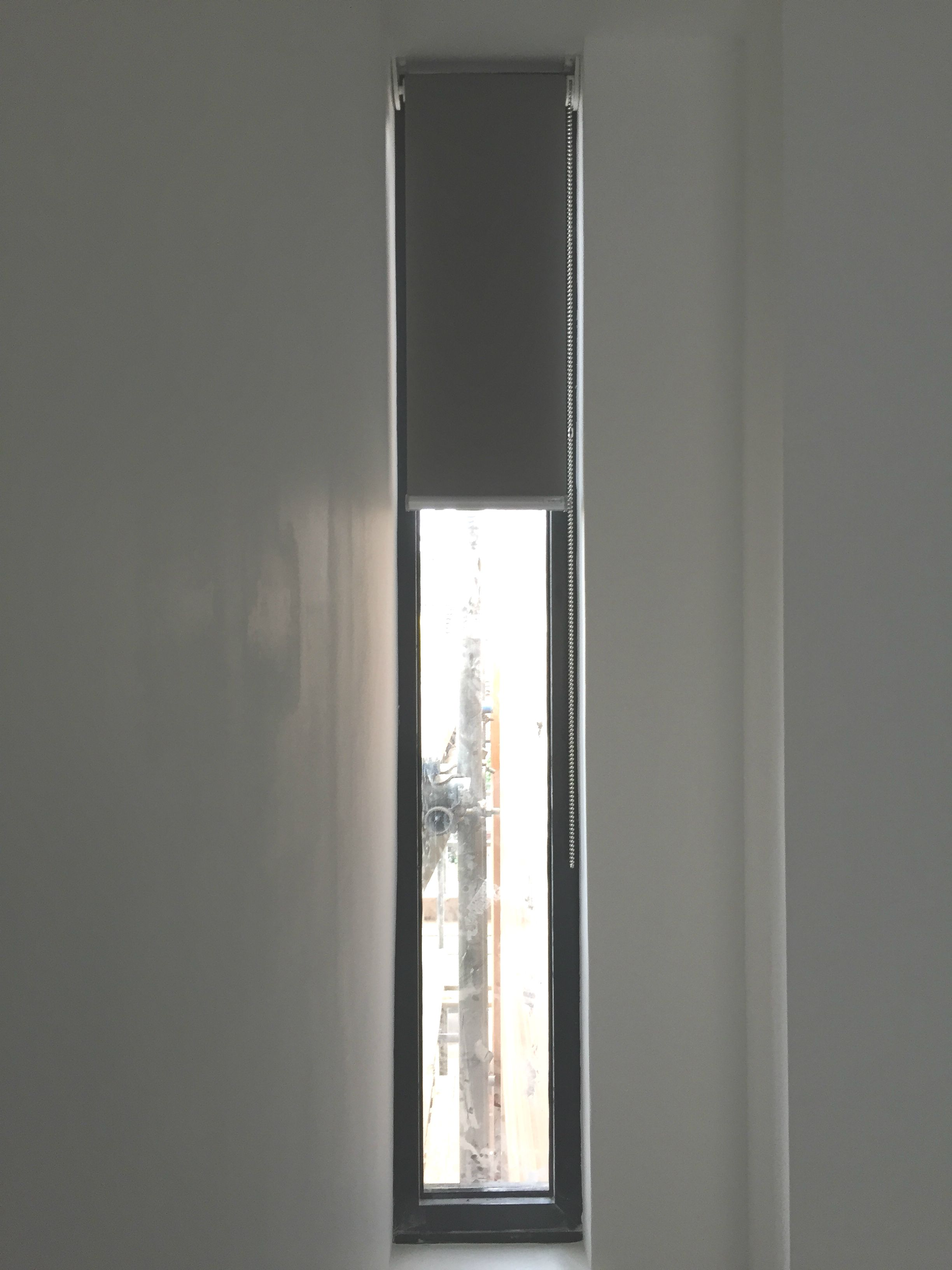 pin modern side roller to curtains finsbury park apartment ecole london tracks l made with in blind blackout building installed blinds