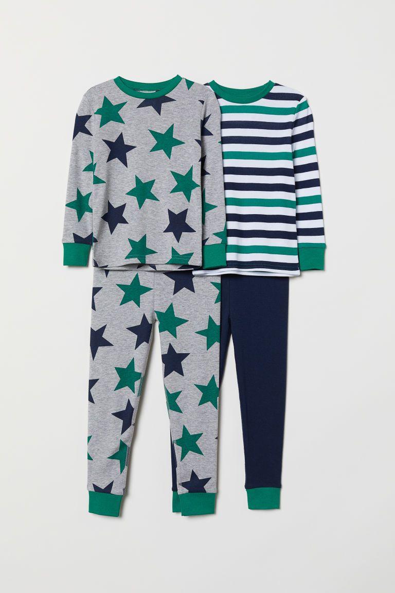 3f53f4c51 2-pack Jersey Pajamas