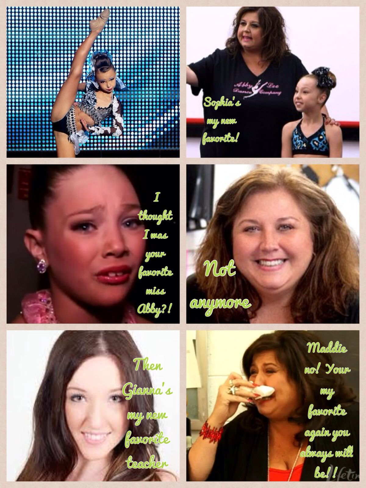 Dance Moms Comic Made By @ Anja Enervold Even Sophia