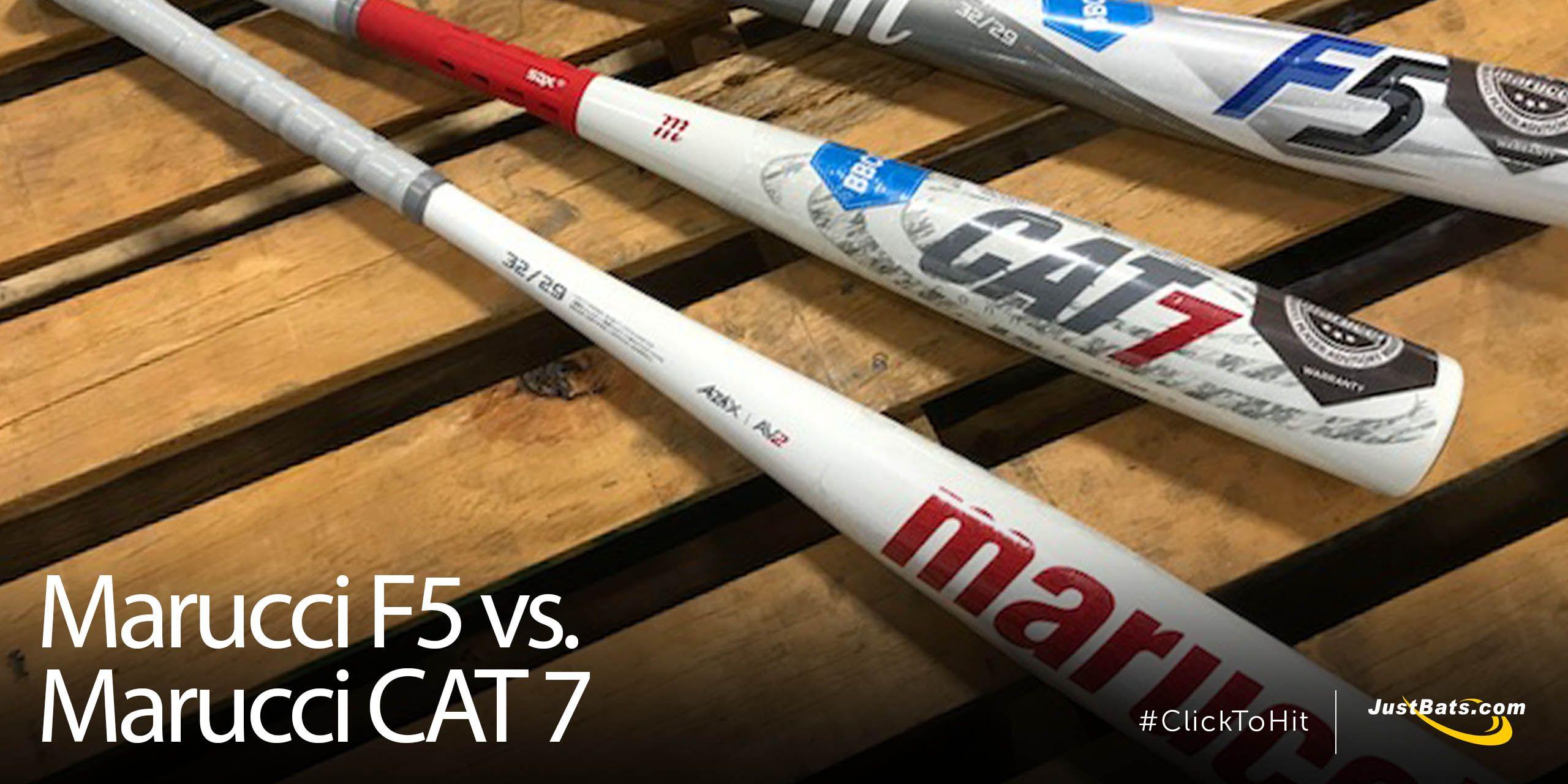 Marucci F5 vs. Marucci CAT 7 What is baseball, Baseball