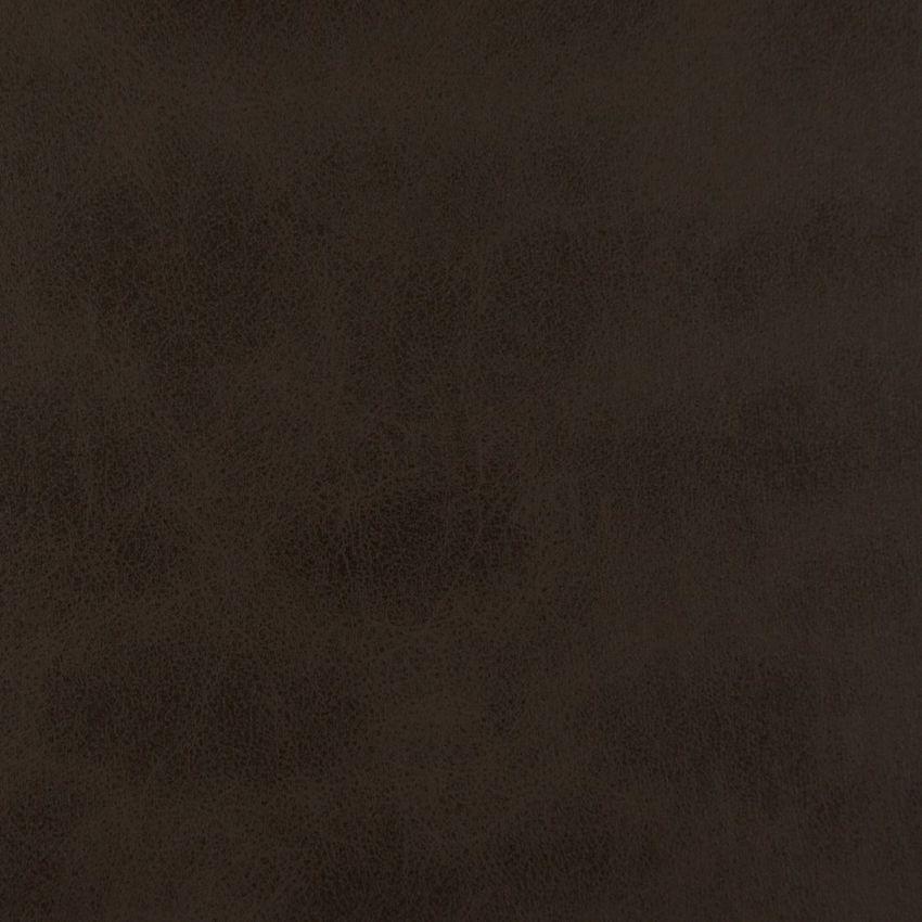 Cocoa Brown Plain Polyurethane Upholstery Fabric Tessuti Da