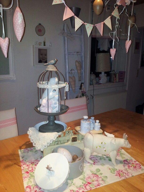 Eine alte Waage als Dekoration♡ Emis Shabby chic DIY Home Pinterest - deko fenster wohnzimmer
