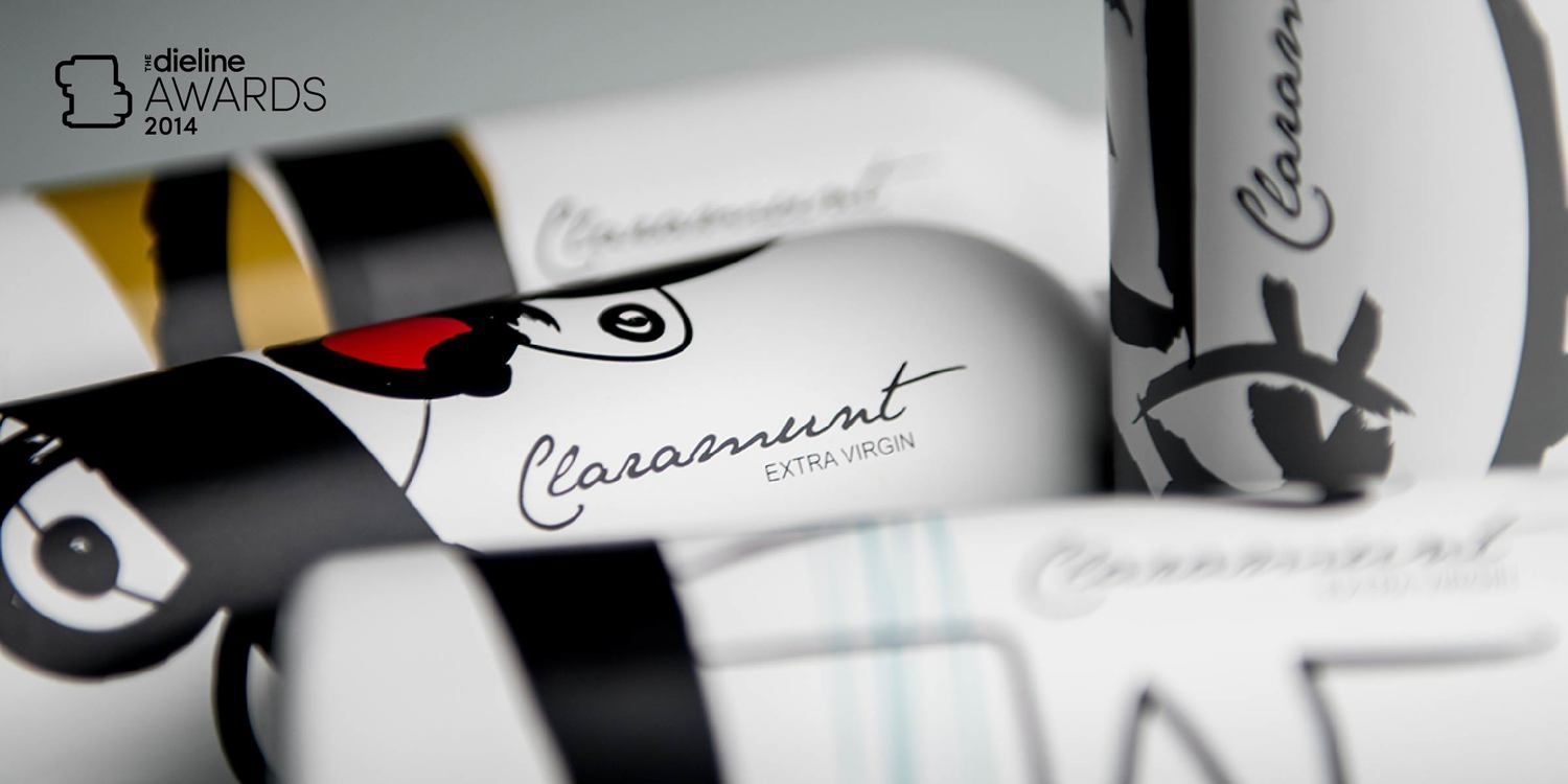 The Dieline Awards 2014: Dairy, Spices, & Oils, 3rd Place – Claramunt Extra Virgin