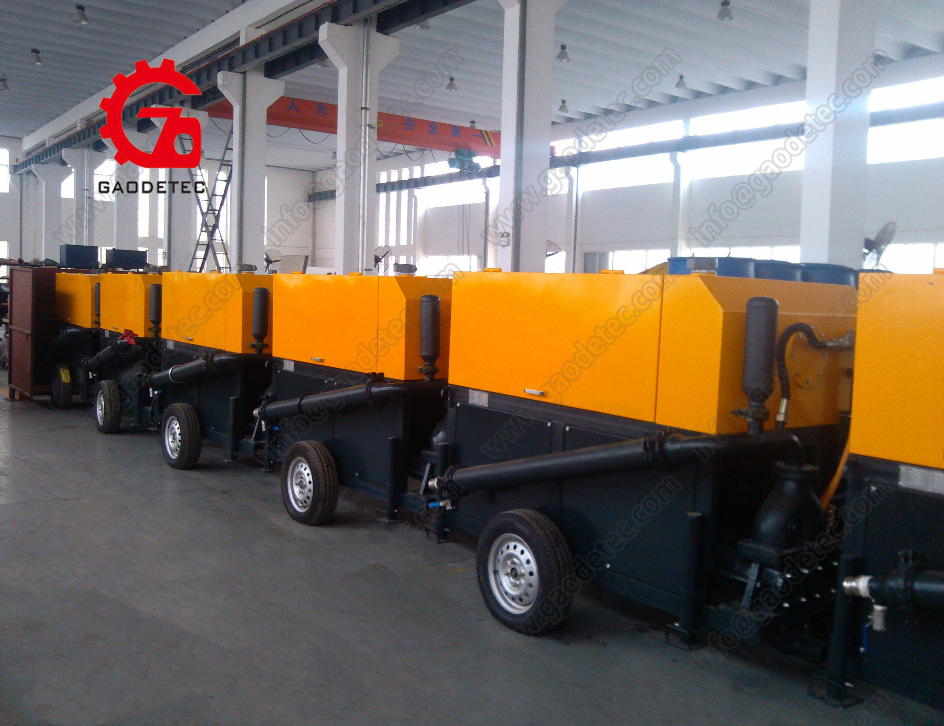 Foam concrete machine Foam concrete machine is special designed for small scale construction or production CLC block machine has small volume and easy to move Pumping foa...