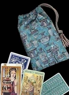 Amphora of Atlantis Regular Tarot Bag - only at Tarot Totes!