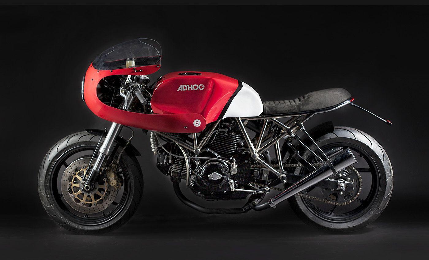 Ad Hoc Ducati 750ss Adroca Motos Personalizadas Motocicletas Motos