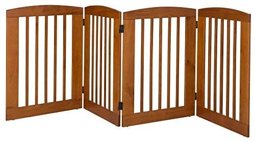 BarkWood Pets Freestanding Wood Pet Gate Review