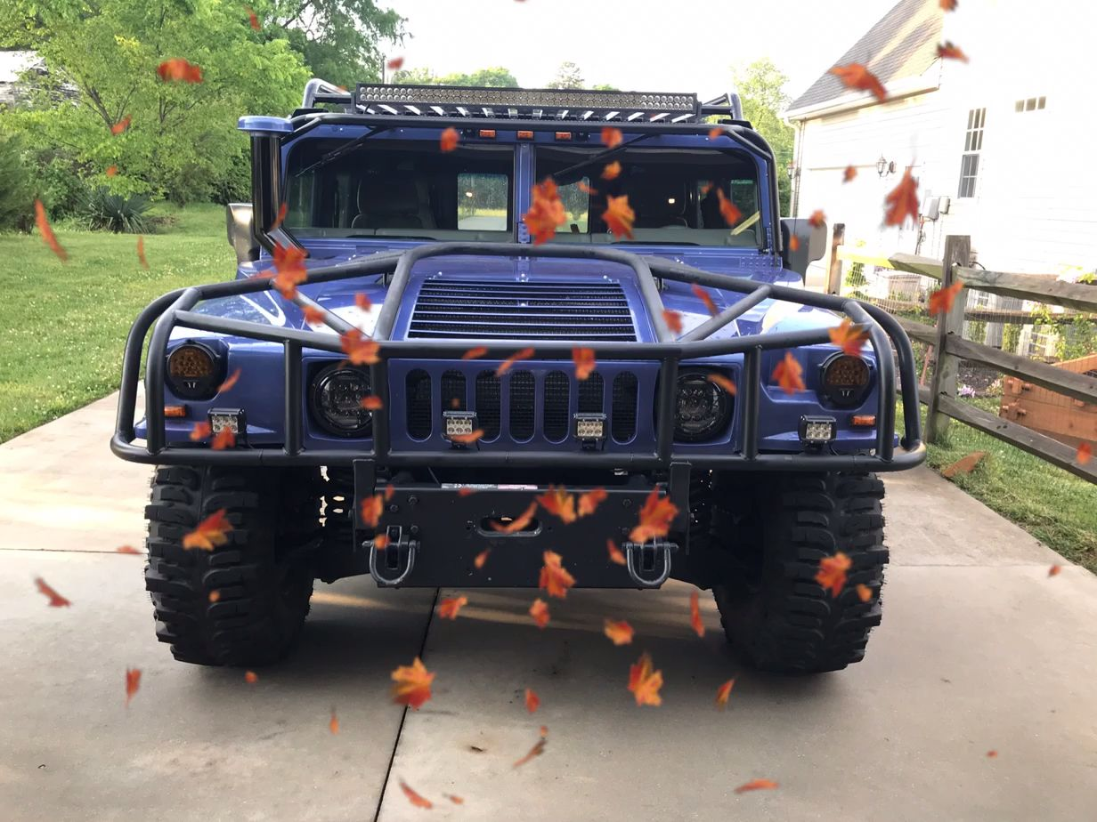 Custom H13 Hummer by Quarter Mile Muscle. 👍 When your ... | hummer upgrades