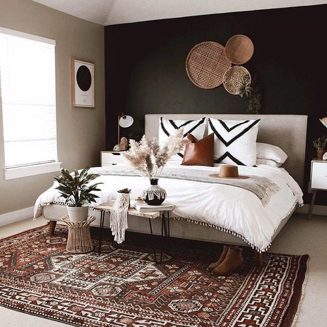 Ohh this is perfectttt. That rug though!! 😍 #bedroomgoals #bedroomideas #bedroomdesign