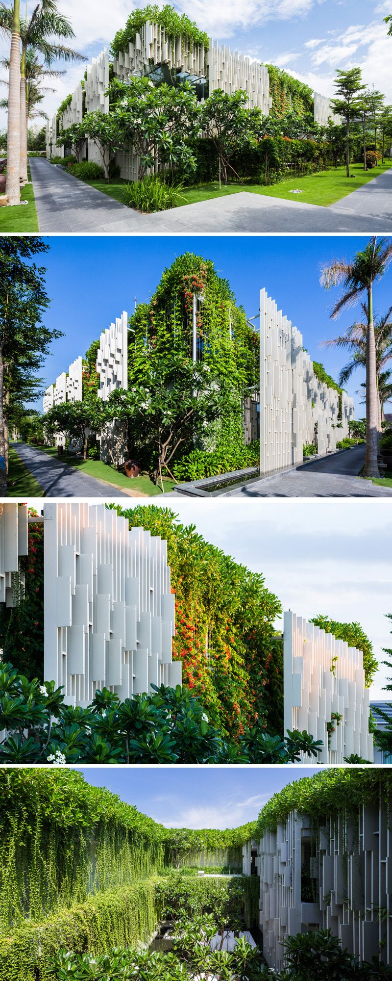 This New Resort Spa Is Covered In Hanging Gardens | ARCHITECTURE ...