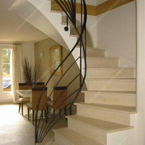 Rampes d 39 escalier modernes rampe escalier pinterest - Escalier maison contemporaine ...