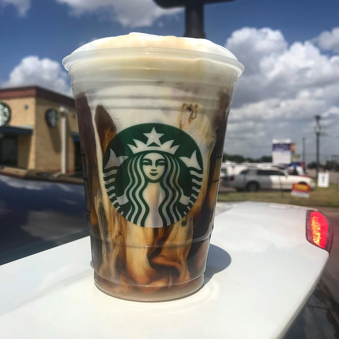 Salted cream caramel cold brew approximate macros